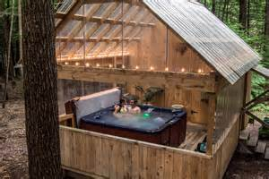 Cabin With Tub by Cabins With Tubs Hominy Ridge Lodge And Cabins
