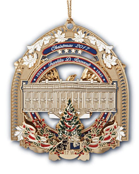 official 2017 white house ornament white house