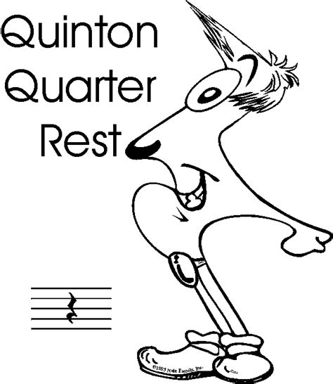 quarter rest coloring page quarter rest clipart best