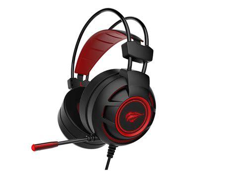 Havit Headset havit usb 7 1 gaming surround sound headset with mic led
