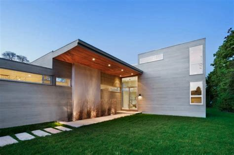 modern house entrance big modern house with agricultural reserve views