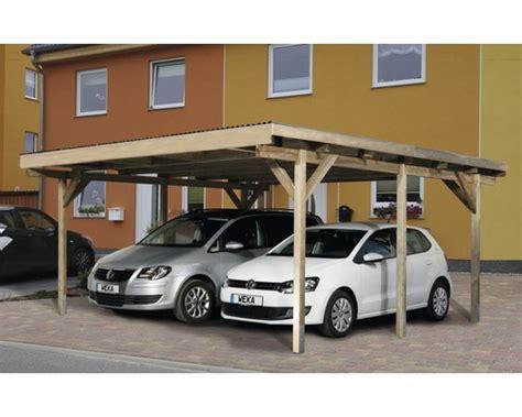 toom carport doppelcarport weka a1 duo 500x500 cm