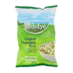 Birds Eye Original Vegetable Rice Ready Meals product