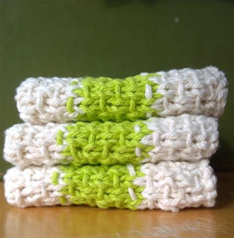 easy knit dishcloths simple slip stitch dishcloth dishcloth and