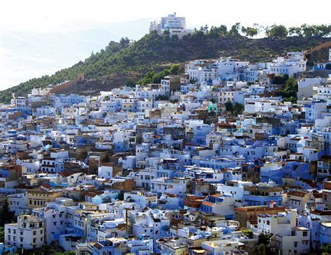 morocco city the blue town of chefchaouen morocco