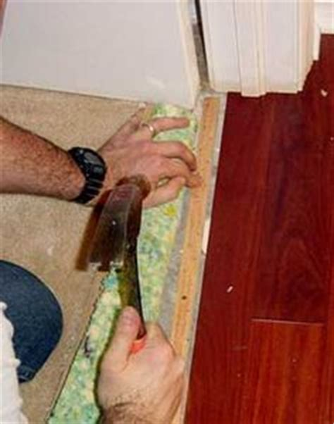 how to remove a section of laminate flooring flooring transition for stairs carpet laminate transition