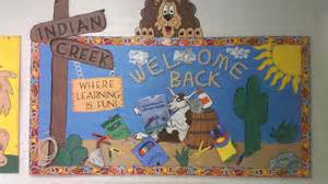 Where The Wild Things Are Wall Mural welcome back to indian creek where learning is fun back