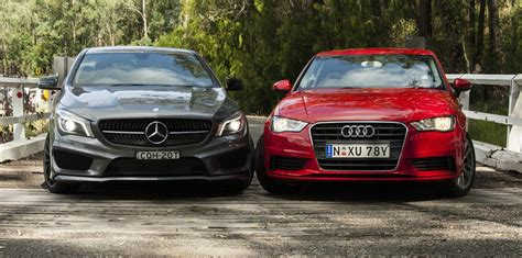 mercedes a200 vs audi a3 audi a3 sedan v mercedes class comparison review