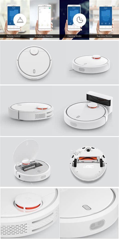 Xiaomi Mi Robot Vacuum Cleaner original xiaomi mi home smart robot vacuum cleaner lsd and slam 1800pa 5200mah with app