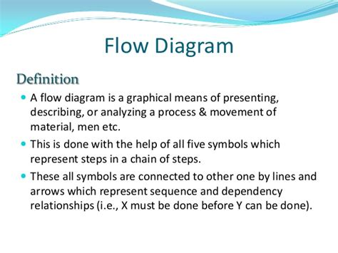 workflow process definition flow process chart