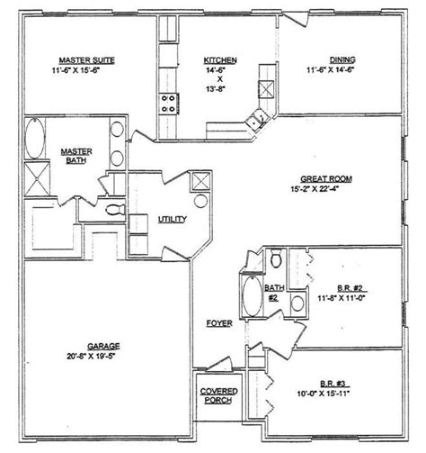 floor plans for 40x60 house 40 215 60 house plans house design ideas