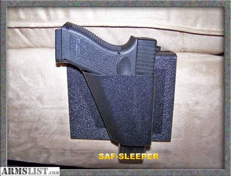 bed gun holster armslist for sale saf sleeper bedside gun holsters