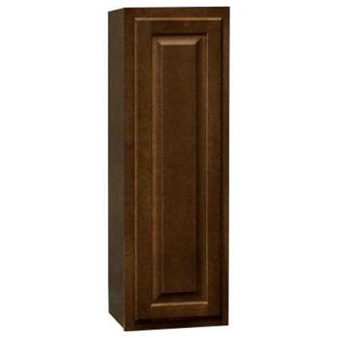 home depot cognac cabinets hton bay 12x36x12 in hton wall cabinet in cognac