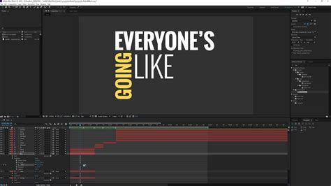 after effects tutorial typography motion graphics simple kinetic typography motion graphics after