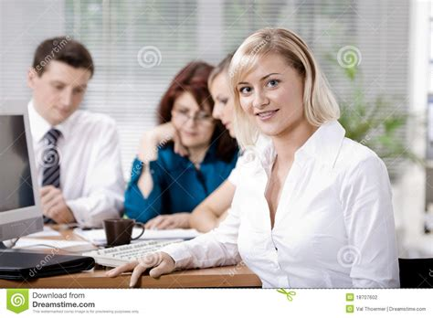 office team stock photography image 18707602