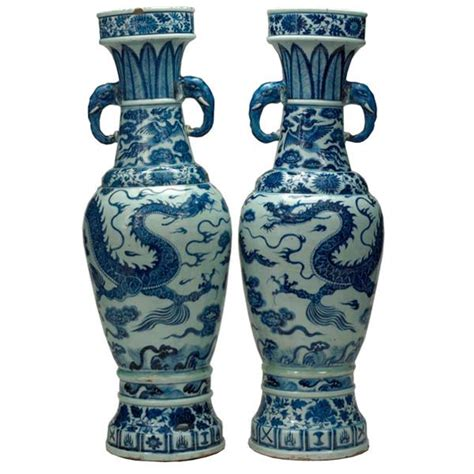 Temple Vase Yuan Dynasty by Date Of Item 1351 A D Location At Which It Was Found