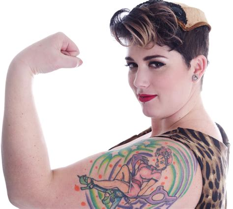 strong woman tattoo designs for