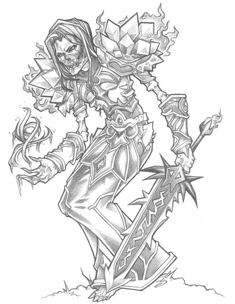 World of Warcraft Drawings - Bing images | Coloring pages