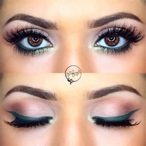 best eye makeup for green best 25 green eyeliner ideas on eye makeup