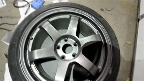 rota grids with duplicolor graphite paint