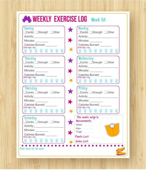 25 best ideas about workout log on pinterest volleyball