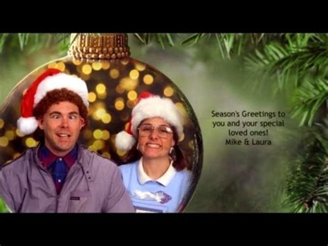 couple continues  year tradition  posing  awkward christmas cards youtube