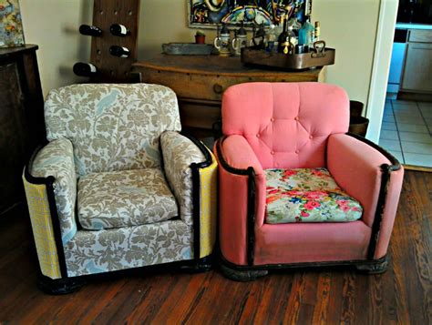 Recover A Chair by Reupholster A Chair Project Create