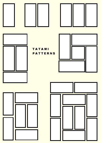 golden ratio layout design tatami layout based off golden ratio architecture