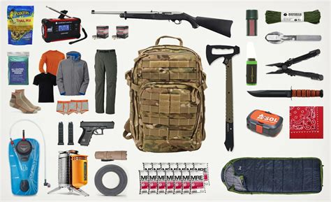 Top 10 Things For Your Bag by Bug Out Bag List Cool Material