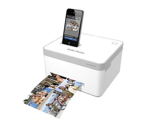 iphone picture printer bolle bp 10 iphone photo printer