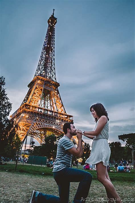 imagenes romanticas en paris pedida de mano de cecilia y adri 225 n en par 237 s