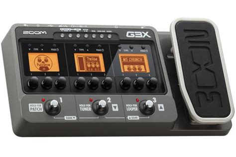 Harga Efek Gitar Zoom G3 zoom g3x guitar effects effects database