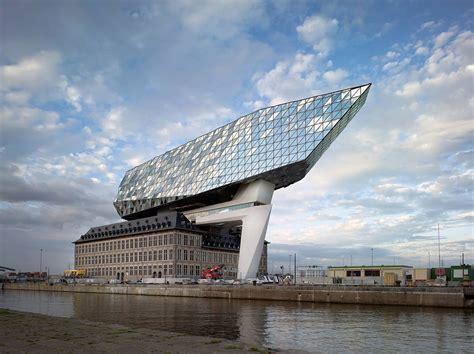 Zaha Hadid Architects completes the Antwerp's New Port