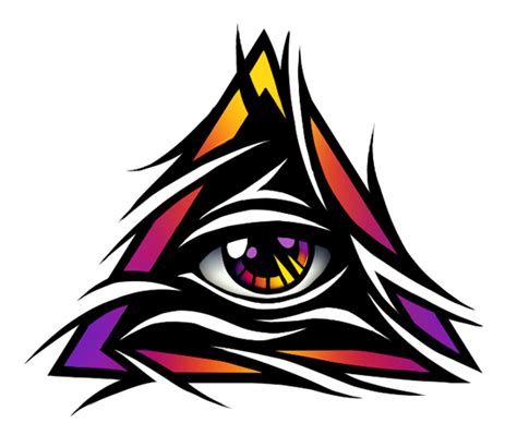 eye tribal tattoo pin wow illuminati symbols appear during baseball
