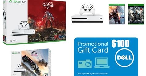Dell Gift Card Coupon - coupons and freebies xbox one console deals 100 dell gift card back 1tb microsoft