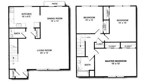 2 bedroom 2 bath duplex floor plans briarwood house