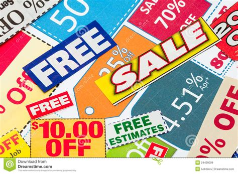 haircut deals limerick set of cut coupons to save money royalty free stock