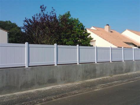 Cloture Maison Pvc by Cl 244 Tures En Aluminium Ou En Pvc Chez Cl 244 Tures Nantaises