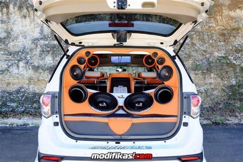 Speaker Vox Vr6p modifikasi fortuner by gigajaya cfs bali audionya edan