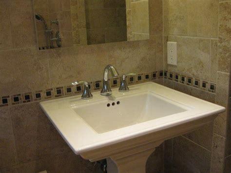 Bathroom Pedestal Sinks Ideas Kohler Memoirs Classic Pedestal Sink Bathroom Ideas
