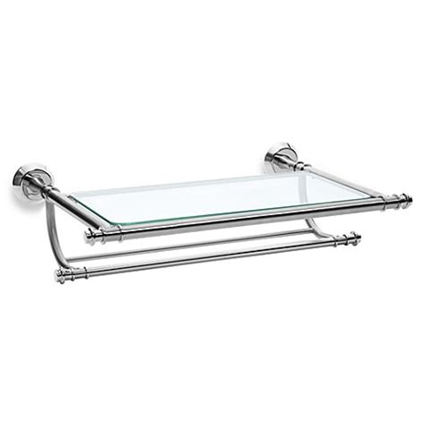 train rack bathroom shelf winthrop satin nickel train rack bed bath beyond
