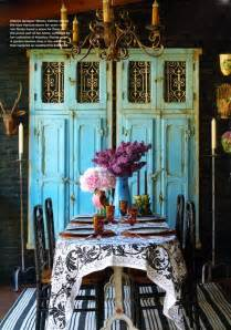 Rustic Dining Room Decor by Beach Gypsies Rustic Chic Turquoise Decorating