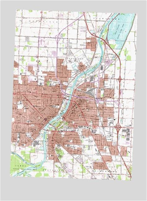 map of saginaw county michigan saginaw mi topographic map topoquest
