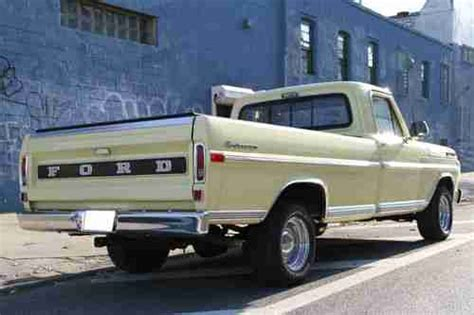 1972 ford custom truck purchase used 1972 ford f 100 bed sports custom truck