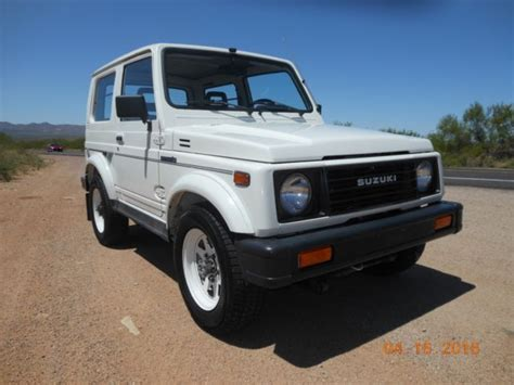 automobile air conditioning service 1992 suzuki samurai windshield wipe control 1988 suzuki samurai hardtop ac low miles rust free original for sale in ridgewood new