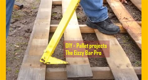 diy pro video homemade pallet projects using the eizzy bar pro