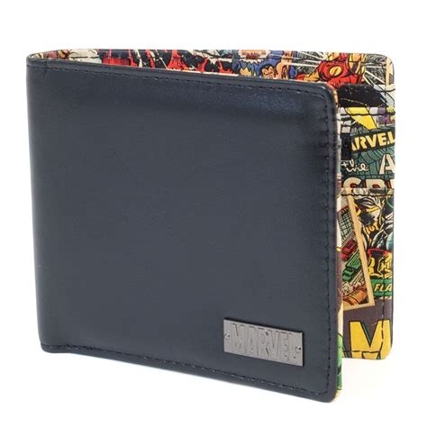 perfect gift for comic book fan marvel interior print wallet great men s gift for a