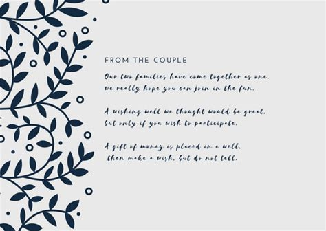 wedding wishes wording www wishing well wording that won t offend articles