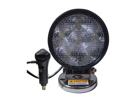 high output magnetic base work light heavy duty