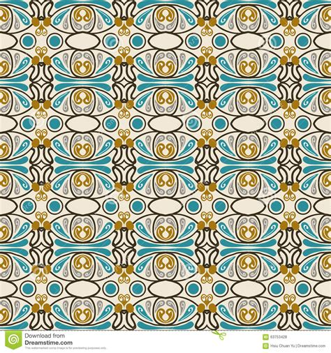 seamless oval pattern seamless background image of vintage oval round geometry